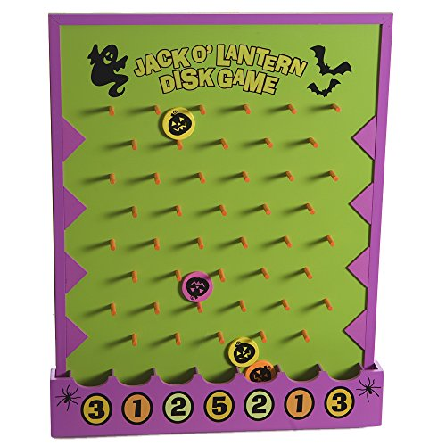 Halloween Disk Drop Game