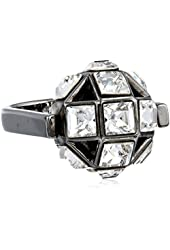 "Trina Turk ""Discreet Opulence"" Geo Ball Spinner Ring, Size 7"