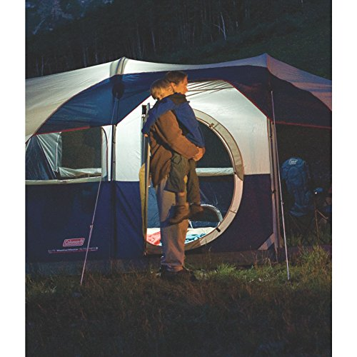 Coleman-Elite-WeatherMaster-Tent-17×9-6-Person-Cabin-Tent-with-LED-Light-System-Screenroom