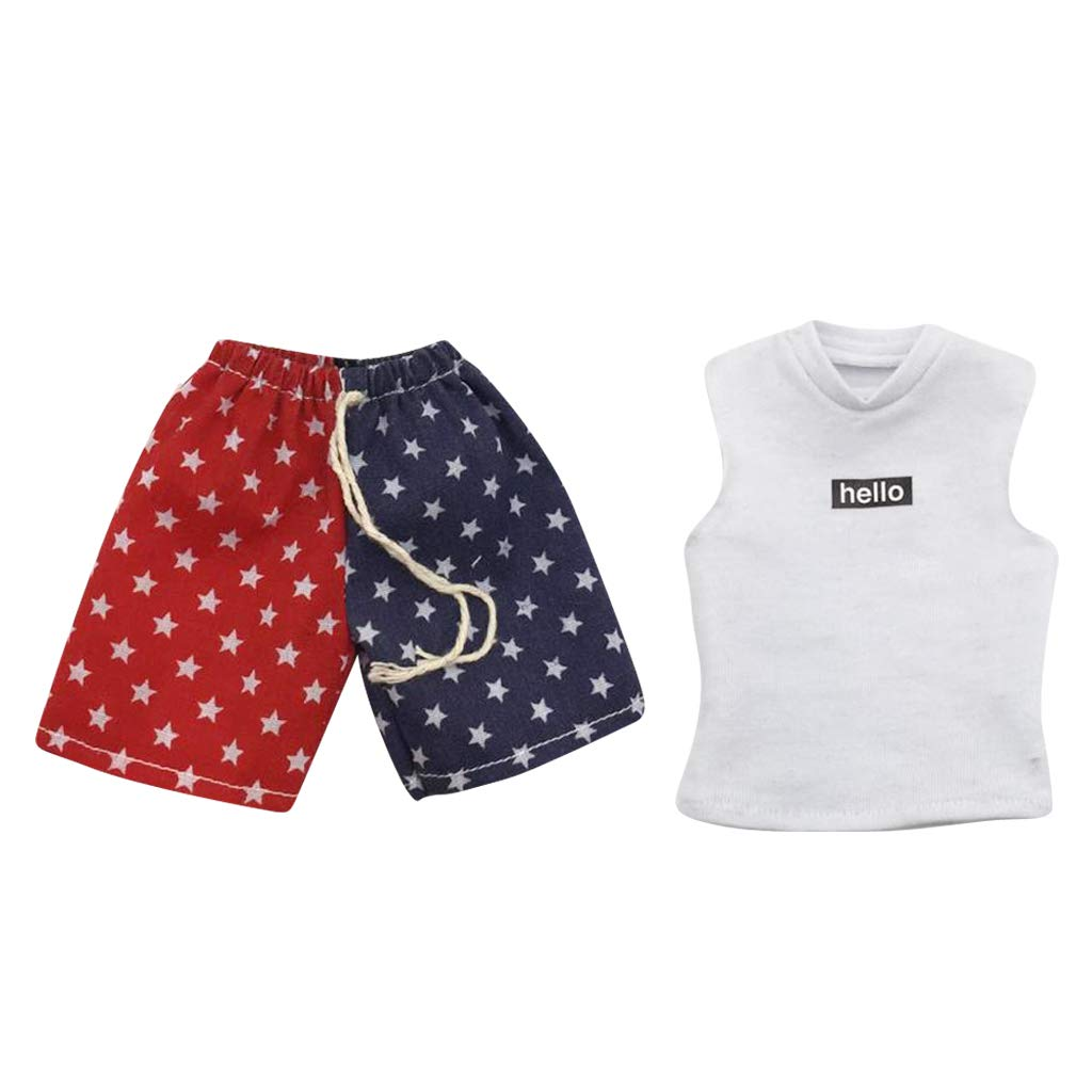 "1//6 Scale Summer Holiday Beach Pants Shorts for 12/"" Male Figures or Dolls"