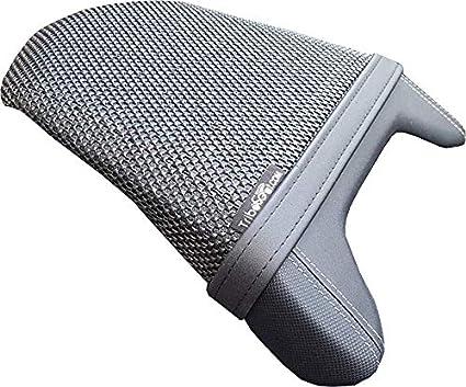 Cubierta TRIBOSEAT para Asiento Antideslizante Accesorio Personalizado Negro Compatible con Suzuki GSX-S 750 2017-2019