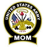 1-Pc Uppermost Fashionable United States Army Mom Sticker Signs Proudly Home Military Size 4.5
