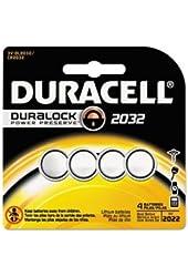 2032 Duracell Duralock CR2032 Lithium Batteries 4 Pack