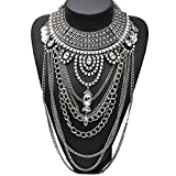 Best Stuffwholesale Necklaces - Stuffwholesale Luxury Tribal Statement Choker Necklace Chain Tassel Review