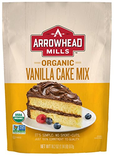 (Arrowhead Mills Organic Vanilla Cake Mix, 18.2 oz. Bag (Pack of 6))