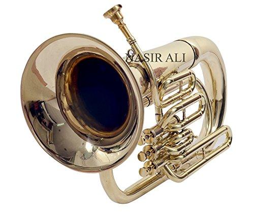 Nasil Ali Eu-3 Euphonium 3 Valve B-flat Brass by NASIR ALI