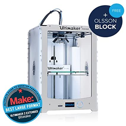 Impresora 3D Ultimaker Extended-2-Impresora 3D color, gran volumen ...