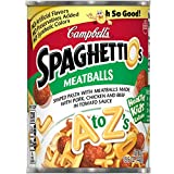 SpaghettiOs A to Z's with Meatballs, 15.6 oz.