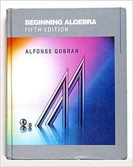 algebra de alfonse gobran