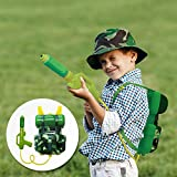 Nai-B Milistar Backpack Water Gun for Kids. Let Your Children Have Fun with High Capacity Super Soaker Squirt Gun. Enjoy Water Fight in Pool & Beach. Must Have Summer Toy. Forest Type