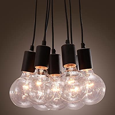 LightInTheBox Classic 40W E27 Pendant Light with 7 Lights Vintage Ceiling Light Fixture Chandeliers for Living Room