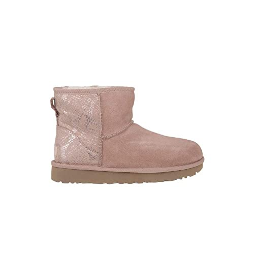 UGG - Botas Classic Mini Metallic Snake - Rose Gold: Amazon.es: Zapatos y complementos