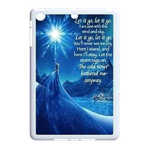 Cartoon disney frozen fever,snowman olaf, elsa and anna phone case cover For Ipad Mini Case LHSB9658583
