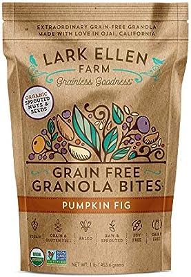 Lark Ellen Farm Bocados de granola libre de granos, paleo ...