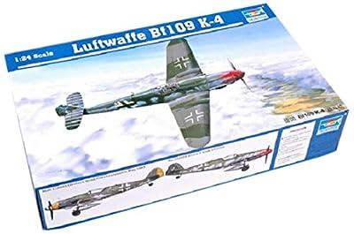 Trumpeter Luftwaffe Bf109 K-4 Model Kit