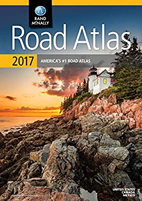 Rand McNally 2017 Road Atlas: United States, Canada, Mexico