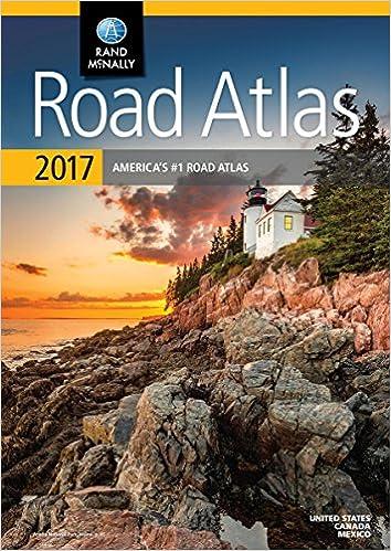 Rand Mcnally 2017 Road Atlas United States Canada Mexico Rand Mcnally 0070609015477 Amazon Com Books
