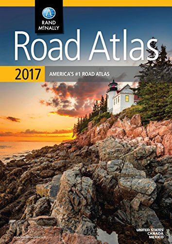 Rand McNally 2017 Road Atlas (Rand Mcnally Road Atlas: United States, Canada, Mexico) (Road Map Of Canada compare prices)