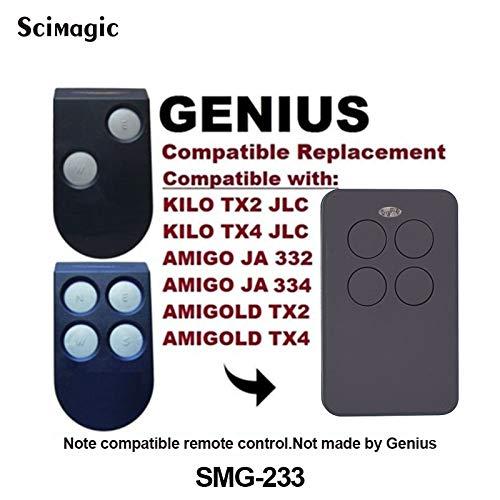 Calvas Compatible GENIUS ECHO TE4433H BRAVO 280-868mhz ...
