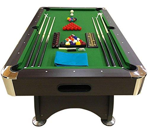 Tavolo da biliardo accessori per carambola snooker verde billiard table 7ft 7 piedi misure - Misure tavolo da biliardo ...