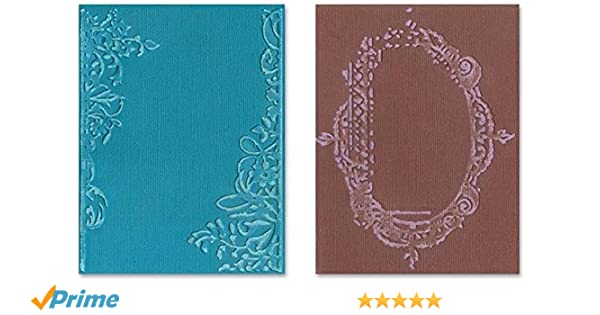 Kwan Crafts Clock Key Plastic Embossing Folders for Card Making Scrapbooking and Other Paper Crafts 10.5x14.5cm