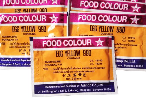 Food Coloring Powder Egg Yellow Color Pack of 25 Pcs. - Buy ...
