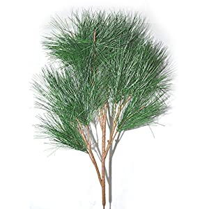 FatColo(R) 70cm real like Plastic Artificial fake plastic Pine Evergreen Plant Tree Branch Green for Christmas Wedding Home Office Furniture Decor 74