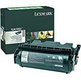 Lexmark Black Toner Cartridge HY Black Toner (12A7462), High yield return program