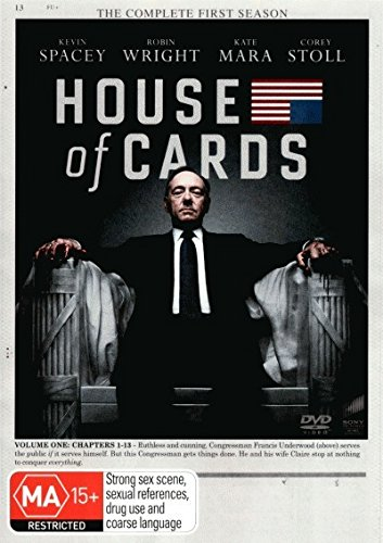 House of Cards - Season 1 - Volume 1 - Chapters 1 - 13 DVD