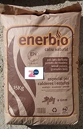 Enerbio; palé de pellets 77 sacos. Certificado ENPlusA1 ...
