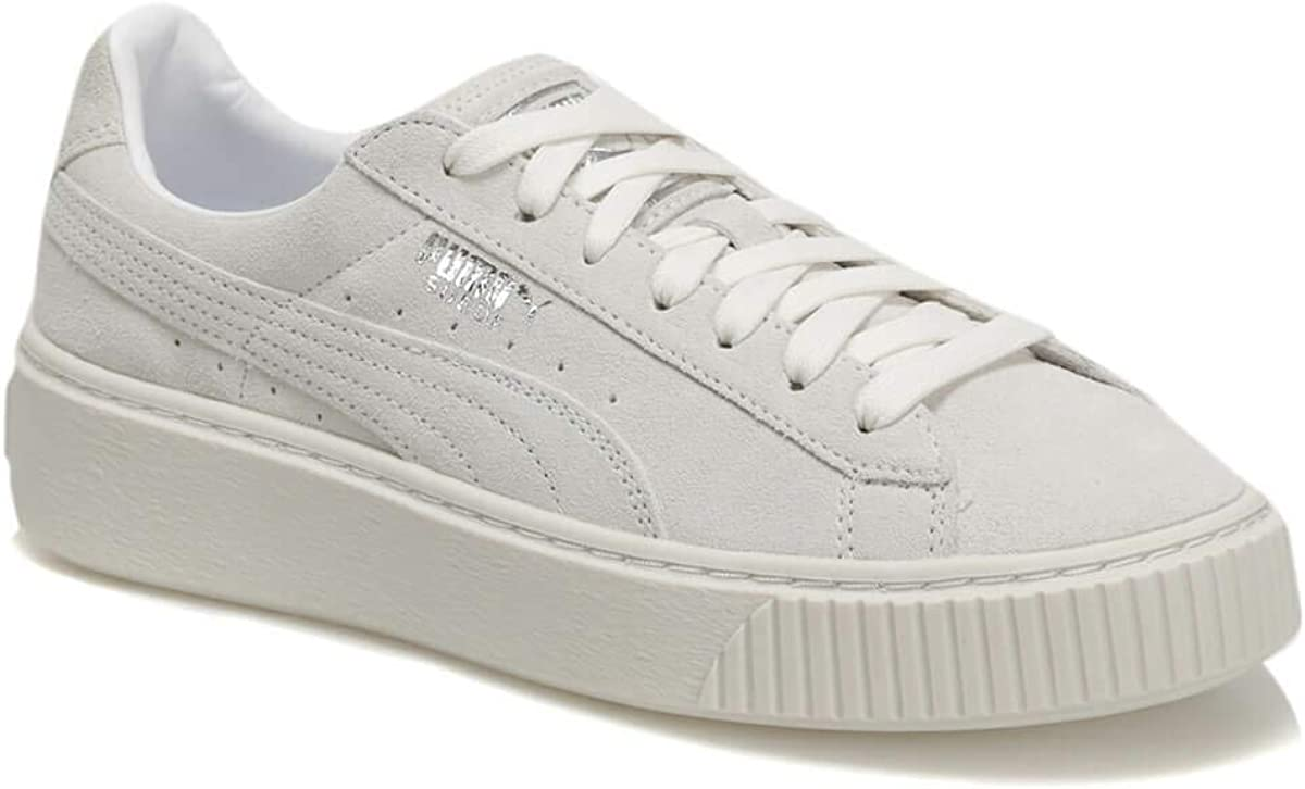 Puma Suede Platform Girls Sneakers Grey