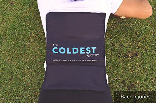 The Coldest Ice Pack Gel Reusable Flexible Therapy Best For Back Pain Leg Arm Knee Shoulder Sciatic Nerve Recovery Medical Grade X-Large Big Compress 15'' x 12'' by The Coldest Water by The Coldest Water (Image #4)