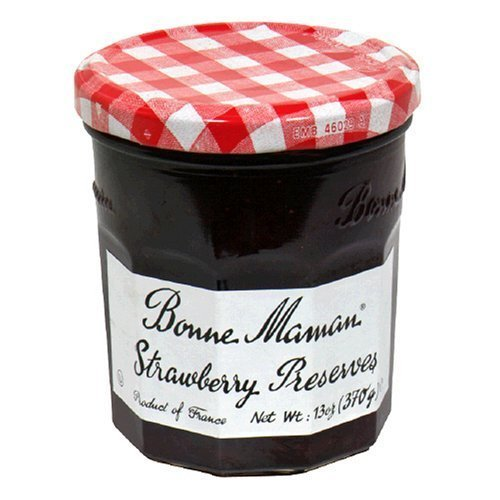 Wright Strawberry - Bonne Maman Strawberry Preserve, 6-Count by Bonne Maman