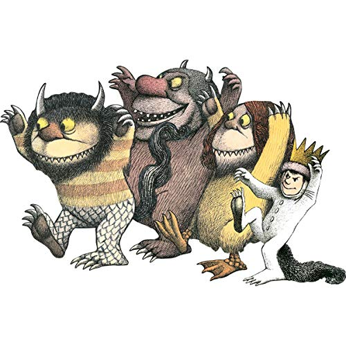 Paper House Productions PUZ-4001E Floor Puzzle, Where the Wild Things ()