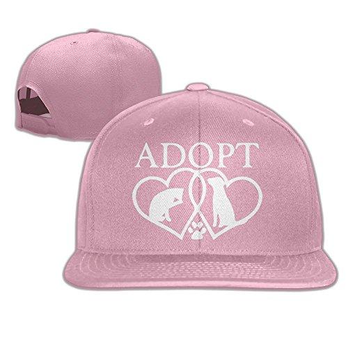 WilliamKL Adopt Animals Heart Love Flat Bill Snapback Adjustable Trucker Cap - Orlando Centres Shopping