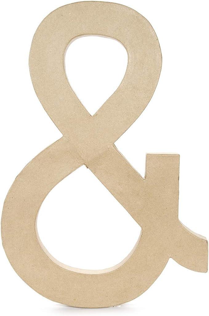 23.5-Inch Darice 2860-J Paper Mache Letter J