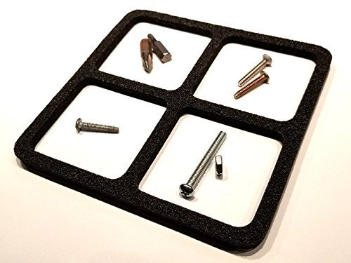 Mag Mat - Magnetic Mat Parts Tray, Screw Catcher with 4 Corrals (5