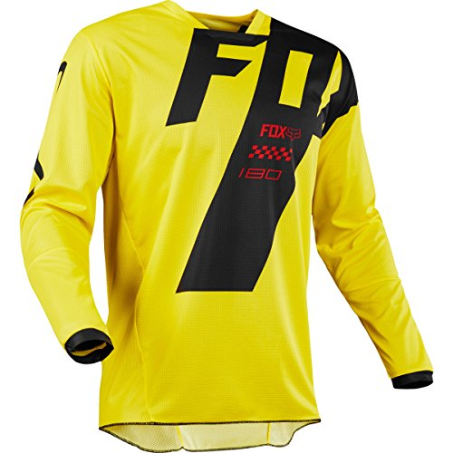Fox Racing 2018 180 Mastar Jersey-Yellow-XL by Fox Racing