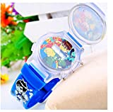 blue Ben 10 Watch flip children kids cartoon Watches Band WP@MYA166695U