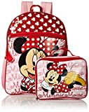 Disney Girls' Minnie Backpack with Lunch, Red - Best Reviews Guide