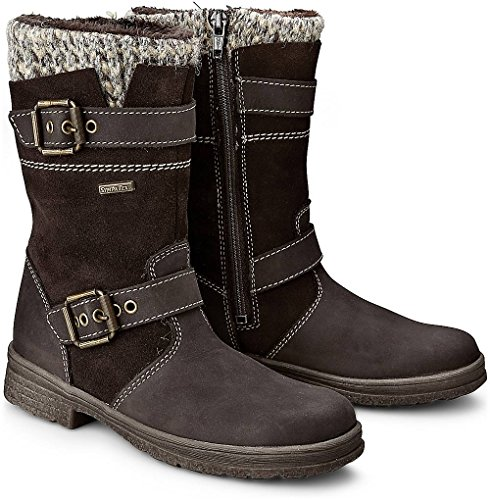 Däumling kids girl Winter-Stiefel ALIA Braun