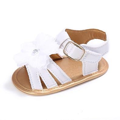 13b295b7980ad ESTAMICO Bébé Fille D Été Chaussures Bébé Sandales Nous  Amazon.fr ...