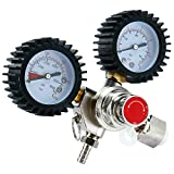 YaeBrew Dual Gauge CO2 Regulator for Draft Beer Homebrew Kegerator CGA320
