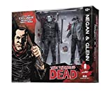 Walking Dead Negan Glenn Black & White 2 Pack Action Figure Set SDCC 2016 Skybound Exclusive