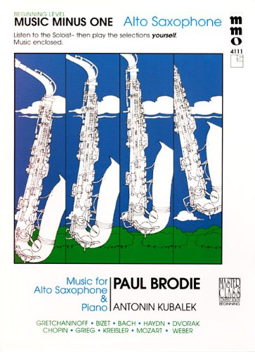 Beginning Alto Sax Solos - Volume (Classical Solos Alto Sax)