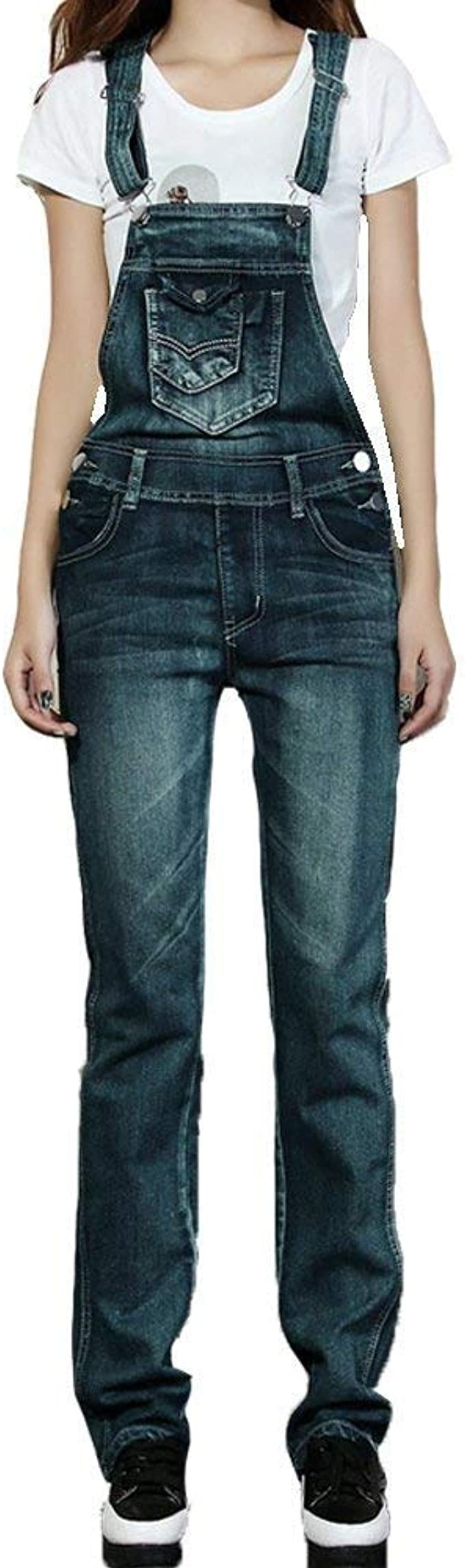 Haidean Peto De Mujer Pantalones Jeans Pantalones Monos Con Pantalones Modernas Casual De Mezclilla Retro Estiramiento De Cintura Alta Lapiz De Agujero Rasgado Moderno Pantalones Casuales Amazon Es Ropa Y Accesorios