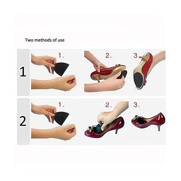 8e5cc9789b63 2Pairs(4pcs) Shoe Bottoms Slip Resistant Shoe Sole Cover Protector for Heels  ...