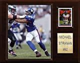 NFL Michael Strahan New York Giants Player Plaque