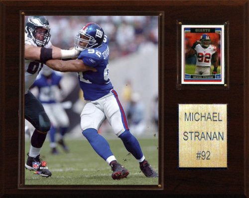 New York Giants Player - NFL Michael Strahan New York Giants Player Plaque