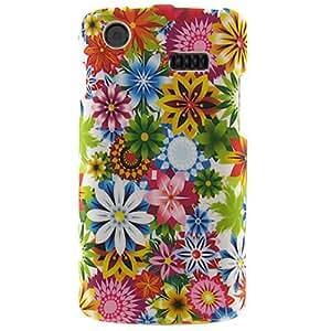 Samsung i897 Captivate Graphic Rubberized Shield Hard Case - Spring Garden